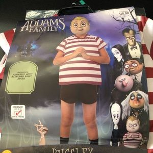 Addams Family Pugsley Costume🎃NEW